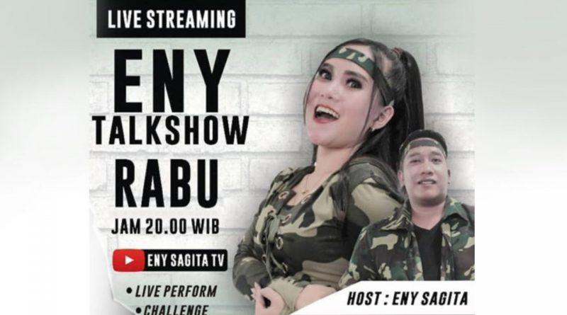 Bikin Terobosan, Eny Sagita Garap Eny Talk Show