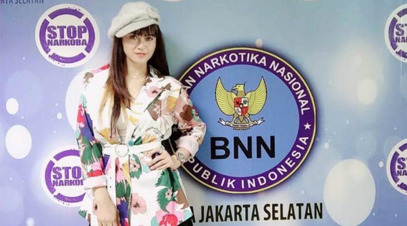 """Jadi Ikon """"Hidup 100 Persen"""" Jakarta Selatan, Velline Bicara Anti Narkoba"""