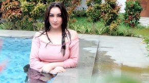 Kebiasaan Cintya Saskara Nongkrong Virtual Selama PSBB