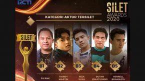 Kuy, Pilih Faank Wali Jadi Aktor Tersilet di Silet Awards 2020!