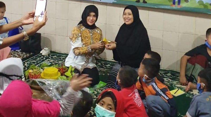 Resty Duo B Rayakan Milad dan Doa Bersama Anak Yatim