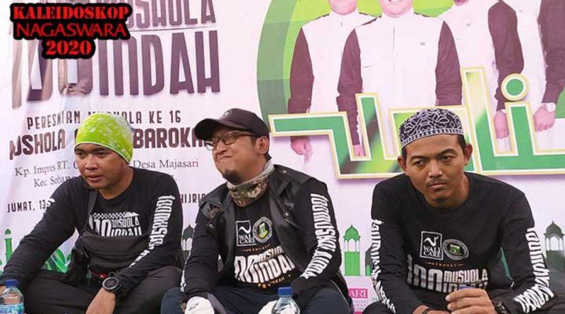 April 2020, Wali Band Resmikan Mushola di Lebak Banten