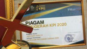 Memberi Inspirasi, 'Amanah Wali 4' Raih KPI Awards 2020