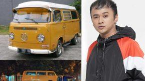 Vito Valnino John Jatuh Cinta dengan Mobil VW Combi