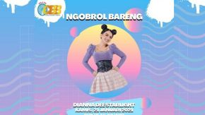 Makin Sibuk, Dianna Dee Starlight Dibanjiri Jadwal Talk Show On Air dan Podcast