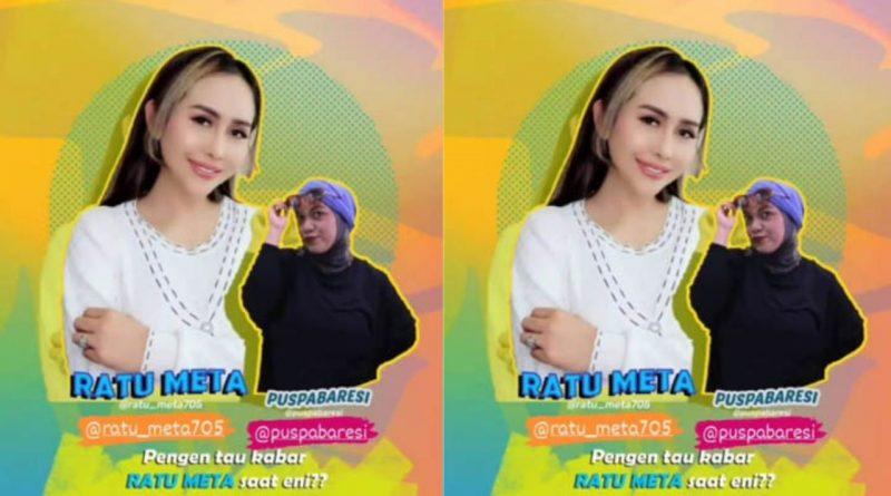 Masih Diselimuti Duka, Dangdut Star Ratu Meta Live Interview di Bens Radio