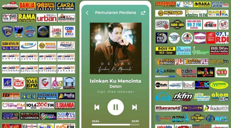 "Sporadis, Delon Kepung Semesta Stasiun Radio Lewat Single ""Izinkan Ku Mencinta"""