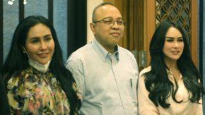 Dialog 'Pekan Panutan Pajak' Yoyok Satiotomo bersama Para Artis Cantik