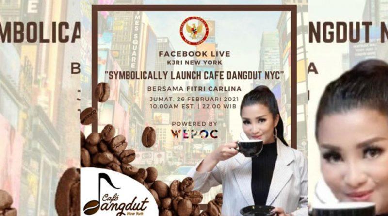 Fitri Carlina Jadi Duta Pertama Cafe Dangdut New York