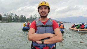 Andi Merpati Pilih Rafting Untuk Sarana Refreshing