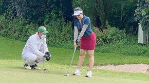 Cerita Ratu Meta Soal Sensasi Bermain di Lapangan Golf