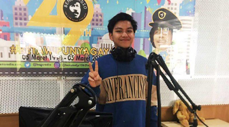 Sebelum Rilis Video Klip Yowes, Rakhan Sapa Pendengar Bens Radio