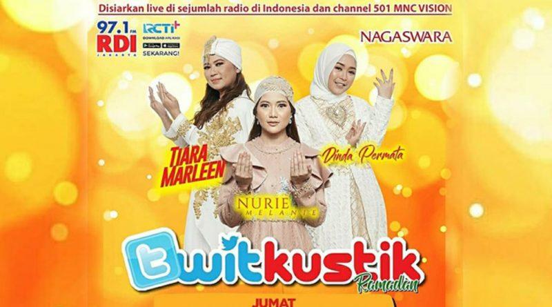 """Besok, """"Twitkustik"""" RDI 97.1 FM Edisi Artis Ramadan NAGASWARA!"""