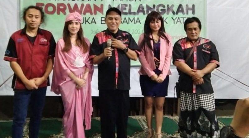 Doa & Harapan Velline Chu, Di HUT ke-7 Forum Wartawan