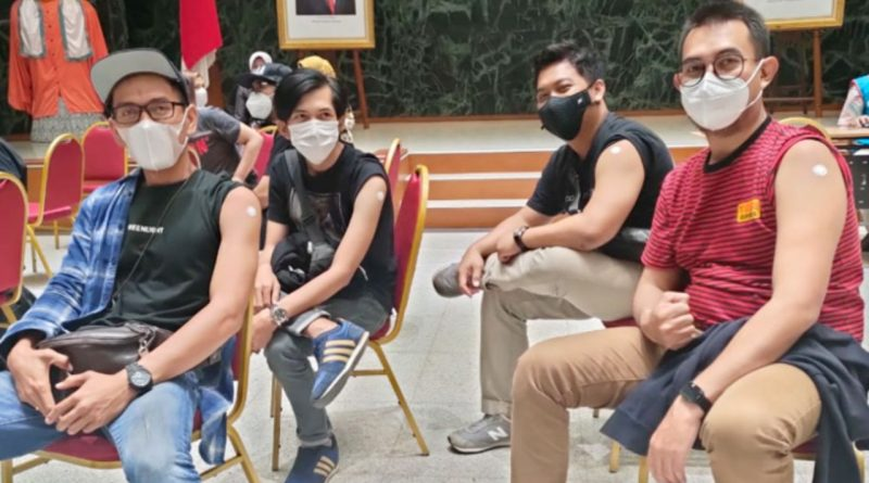 Merpati Band Dapat Kesempatan Ikut Vaksin Covid-19 Dibalai Kota