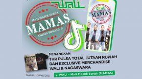 """Yuk, Ikutan """"TikTok Challenge MAMAS Band Wali"""" Berhadiah THR"""