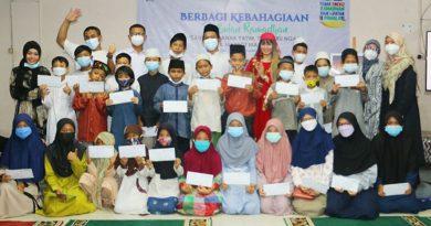 Dinda Permata dan Velline Chu Bukber Bareng Anak Yatim