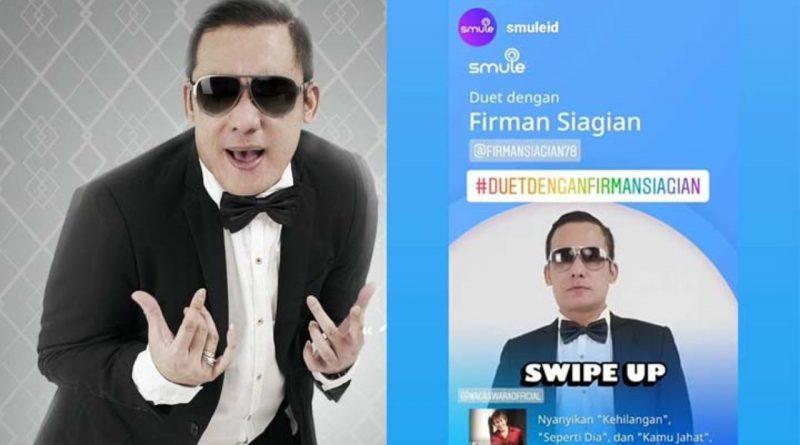 Firman Siagian Berselancar di Aplikasi Smule lewat Lagu-lagu Hitsnya