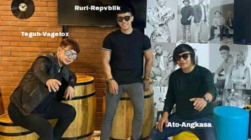 Ato Angkasa, Teguh Vagetoz dan Ruri Repvblik Bikin Trio Ngab