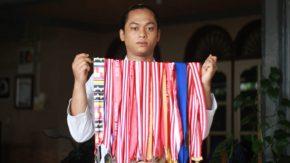 "M. Ridho Pelantun ""Jalanku Jalanmu"", Ternyata Juara Dunia Karate"