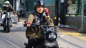 Selvi Kitty Bentuk Geng Motorbikers Bareng Artis Cantik