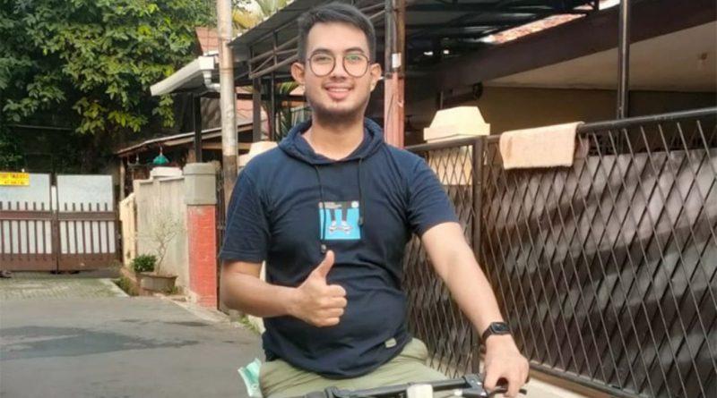 Andi Merpati Pilih Gowes Sepeda Biar Sehat dan Nafas Panjang