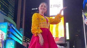Fitri Carlina Jadi Penyanyi Asia Kedua yang Manggung di Times Square