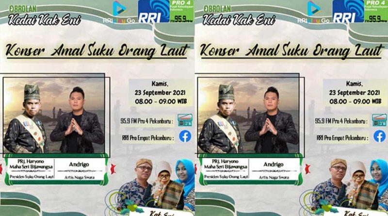 Jam 8 Malam Nanti, Andrigo di 95.9 FM RRI Pro 4 Pekanbaru