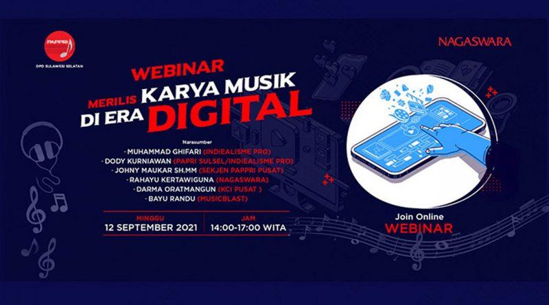 NAGASWARA Turut Berperan dalam Industri Musik Digital
