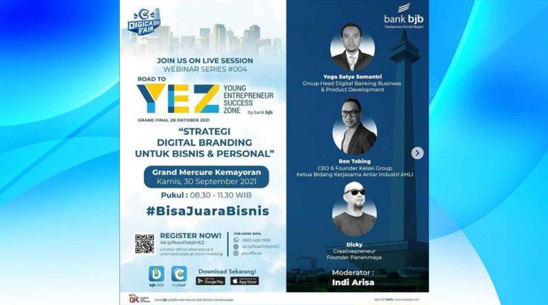 """Ren Tobing Jadi Pembicara Seminar """"Young Entrepreneur Success Zone"""""""